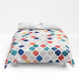 Sea & Spice Moroccan Pattern Comforters