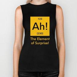 Ah element of surprise Biker Tank