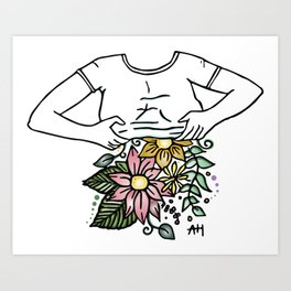 Body Love (Color) Art Print