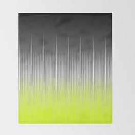 black and yellow background #society6 #decor #buyart #artprint Throw Blanket