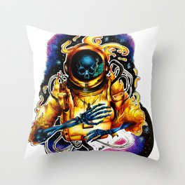 The Ethereal Void Throw Pillow