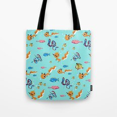 Fox Tales - A Tropical Swim Tote Bag