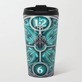Time waits for no man Metal Travel Mug