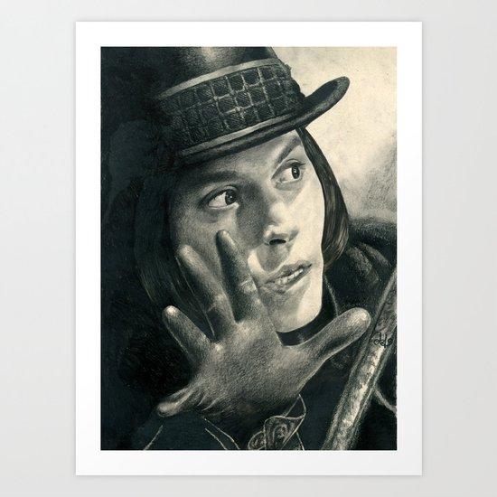 Willy Wonka - Chocolate Factory Art Print