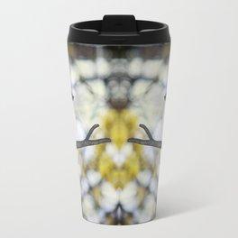 tufted titmouse - bokeh Travel Mug