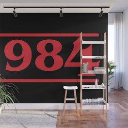 Strange 1984 Wall Mural