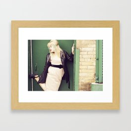 Classy at it's finest.  Framed Art Print
