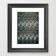 Pierrot II/Memoir Pattern Framed Art Print