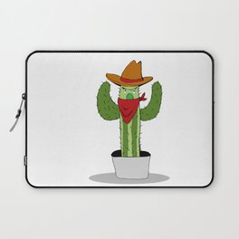 Cowboy Cactus Laptop Sleeve