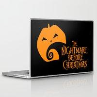 nightmare before christmas Laptop & iPad Skins featuring The Nightmare before Christmas by Citron Vert