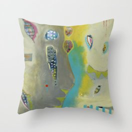 Bee Festive Throw Pillow