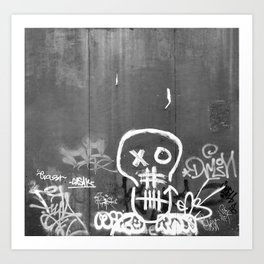 Crania Art Print