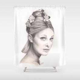 flowered tate... Shower Curtain