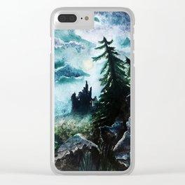 Hill of Dark Sorcery Clear iPhone Case