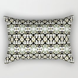 Abstract Ethnic Camouflage Rectangular Pillow