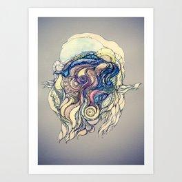 Сelestial fantasy Art Print