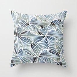 Acquamesh Throw Pillow