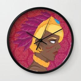 Yasmin Wall Clock