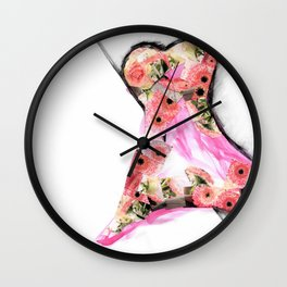 Blütenkleid Wall Clock