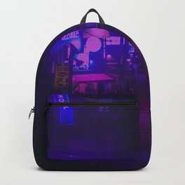 Vaporwave Vibes Alleyway Backpack