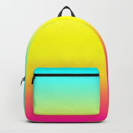 Ombre Magical Rainbow Unicorn Colors Backpack