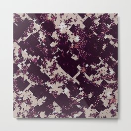 Chaotic pattern Metal Print