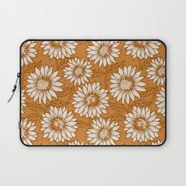 Copper Sunflowers Laptop Sleeve