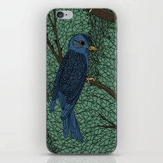 Blue Birds iPhone & iPod Skin