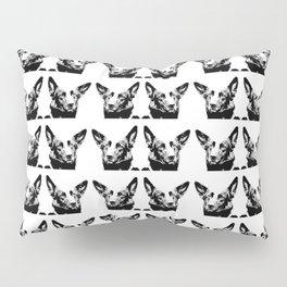 Mitzi black and white, pattern Pillow Sham