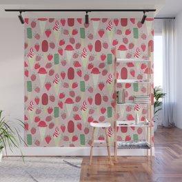 Berries&Cream Wall Mural