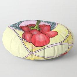 Art nouveau. Pepper. Floor Pillow