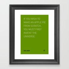 Apple 16 Framed Art Print