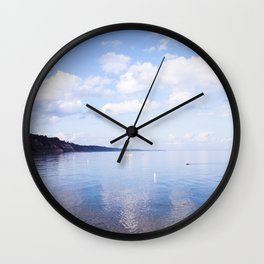 Glaze Waters of Ontario Wall Clock