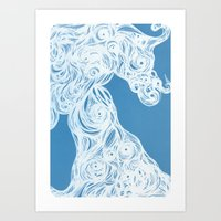Creature from the Aether Art Print