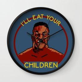 I'll Eat Your Children Wall Clock