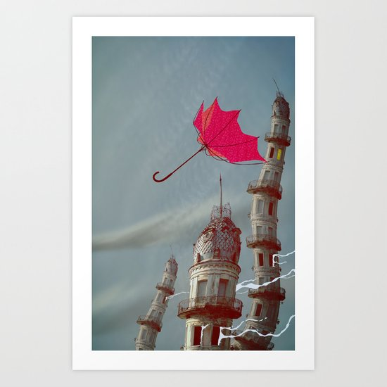 The Wind Art Print