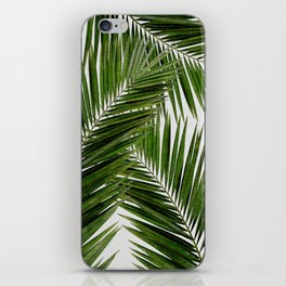 Palm Leaf III iPhone Skin