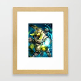 over orisa watch Framed Art Print