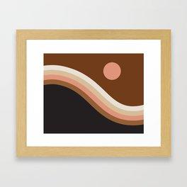 Neopolitan Hillside Framed Art Print