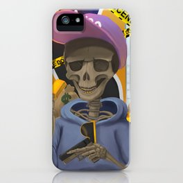 Death of Greed iPhone Case