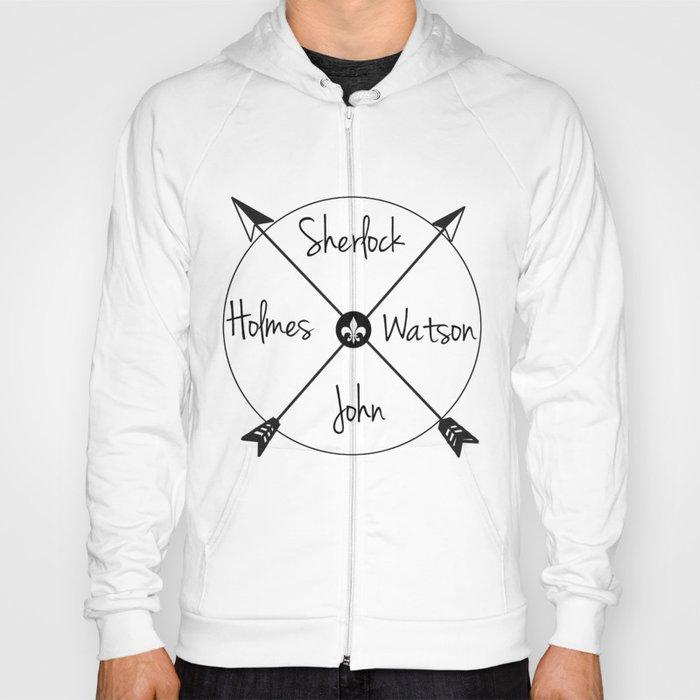 Holmes'Watson Hoody