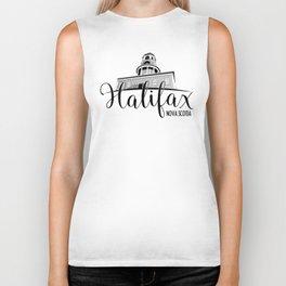 Halifax Clocktower Biker Tank