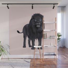 BLACK LION Wall Mural