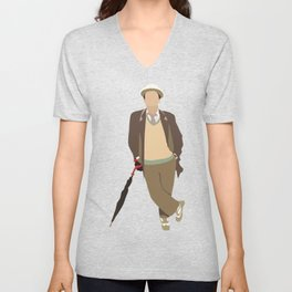 Seventh Doctor: Sylvester McCoy Unisex V-Neck