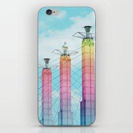 Bartle Hall in Rainbow iPhone Skin