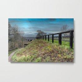 Welsh Aqueduct Metal Print