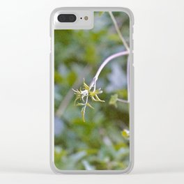 Growth and Transformation Clear iPhone Case