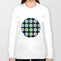 dots Long Sleeve T-shirts featuring Dots  by LebensARTdesign