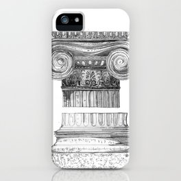 Ionic Capital - Pencil iPhone Case