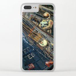 Air & Space Museum 5 Clear iPhone Case